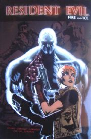 Resident Evil Fire And Ice Graphic Novel GN Trade Paperback DC Wildstorm Comics